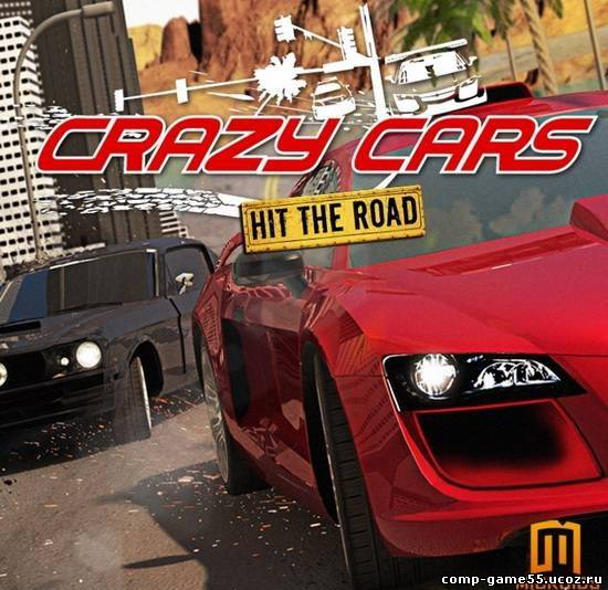 Crazy Cars: Hit the Road (PC/3D/RUS)
